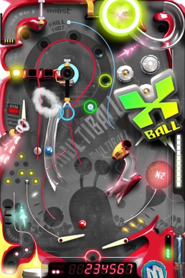 Multiball Pinball Screenshot