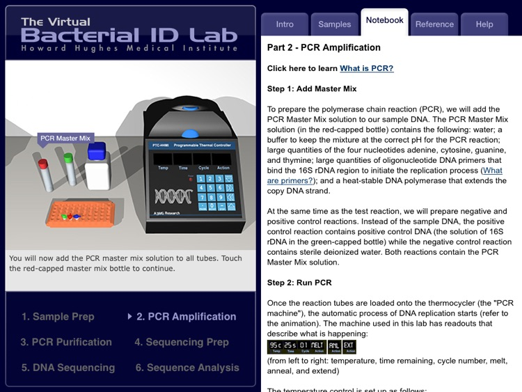 The Virtual Bacterial ID Lab