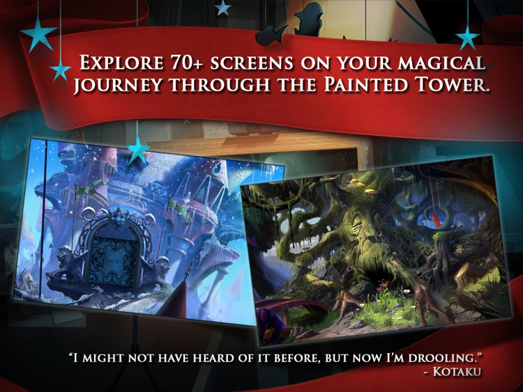 Drawn - The Painted Tower HD screenshot-1
