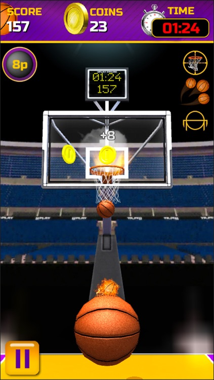 Swipe Basketball screenshot-0