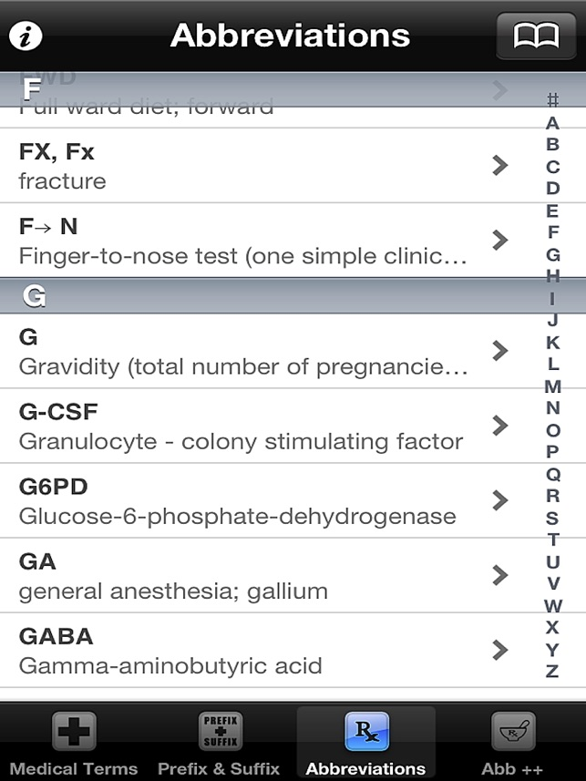 Medical Terms, Terminology, Prefix & Suffix on the App Store