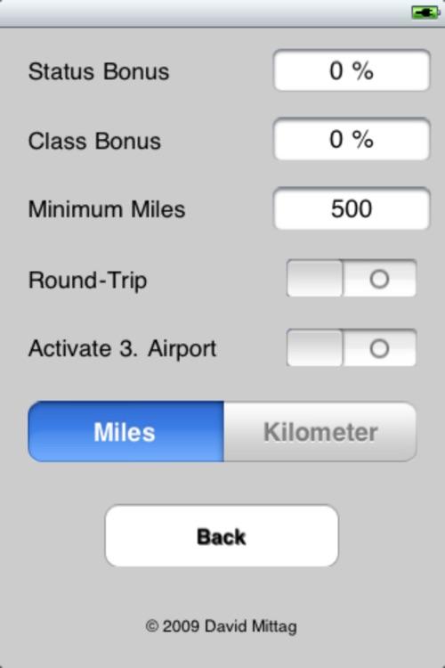 Air Milage Calculator
