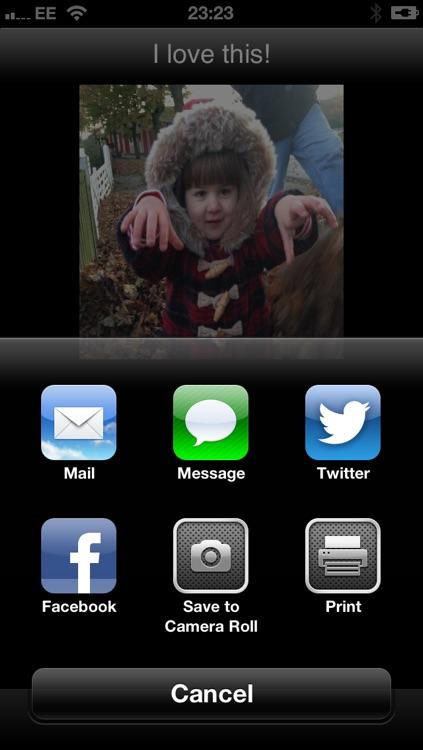 KwikChat for Facebook Twitter SMS screenshot-3