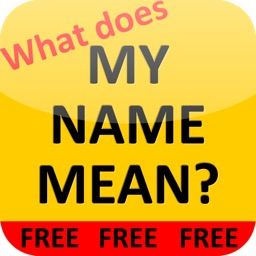 What does MY NAME MEAN? (Large!)