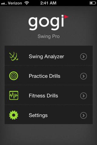 GOGI Swing Pro screenshot one