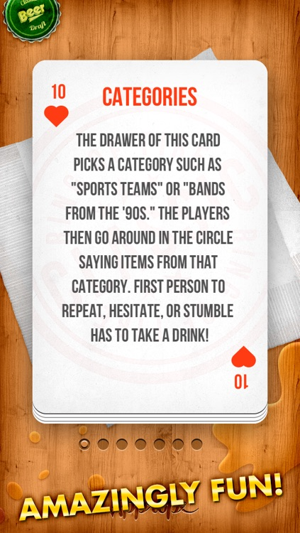 KINGS - the drinking game ( Ring of Fire / King's Cup )