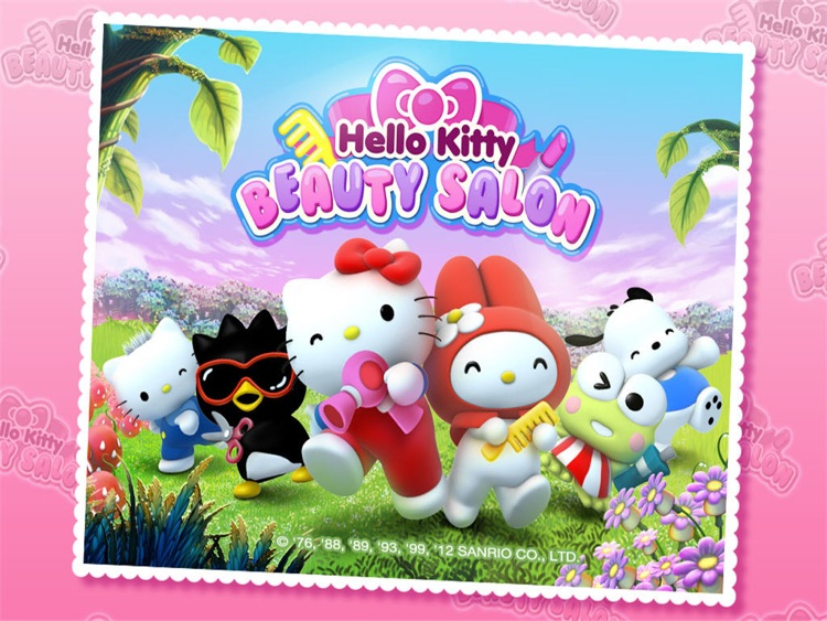 Hello Kitty Beauty Salon HD screenshot-0