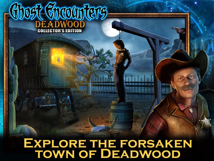 Ghost Encounters: Deadwood HD - A Hidden Object Adventure screenshot-1