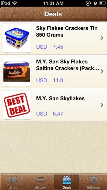 DealSnap - Amazing deal finder app