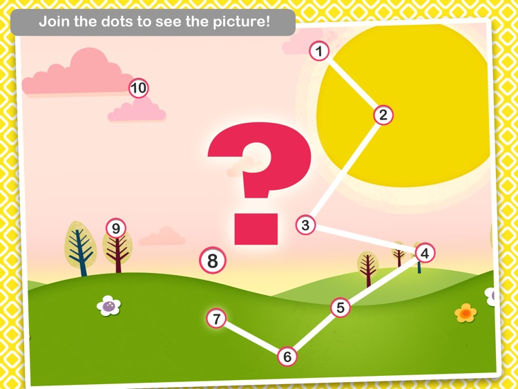 Dot-to-Dot Adventure Free - Learn Numbers and Letters