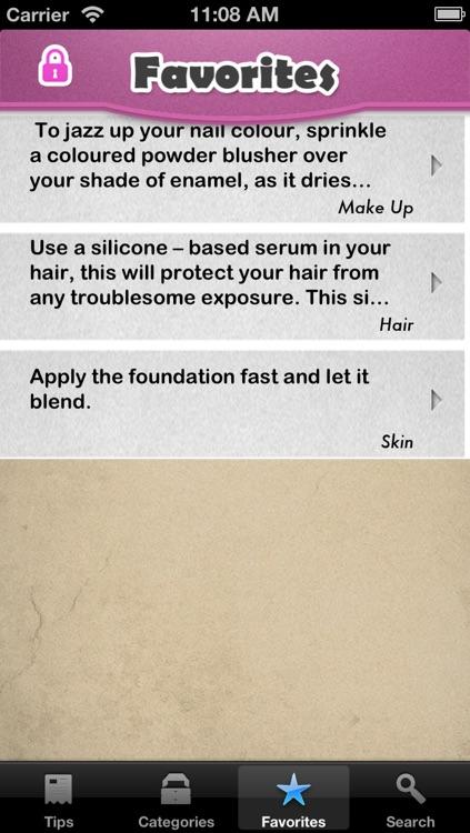 Beauty Tips+ screenshot-3