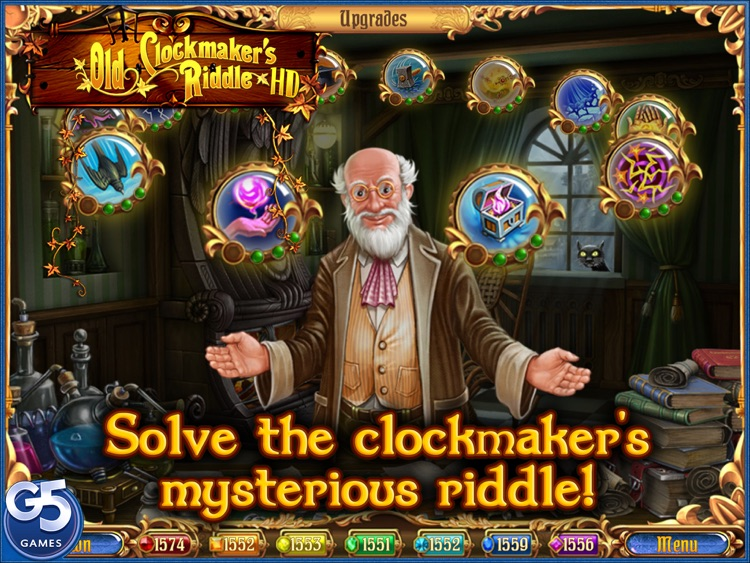 Old Clockmaker's Riddle HD