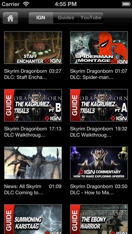 IGN App For Elder Scrolls V: Skyrim screenshot-4