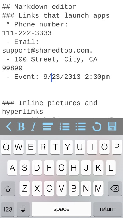 MobileFolio - Markdown Notes with Dropbox and Google Drive Support screenshot-3