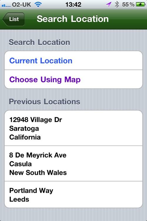 Gas Finder - Find your nearest Gas Stations screenshot-4