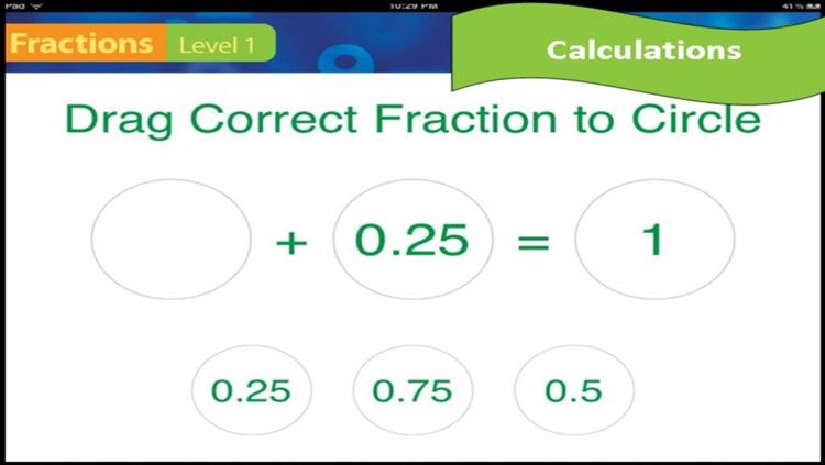 Fractions & Decimals - Intermediate