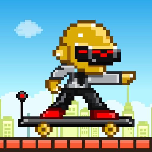 Street Skateboarding - Play Free 8-bit Retro Pixel Skating Games