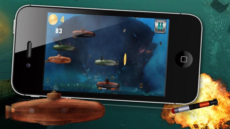 Angry Battle Submarines - A War Submarine Game! screenshot-3