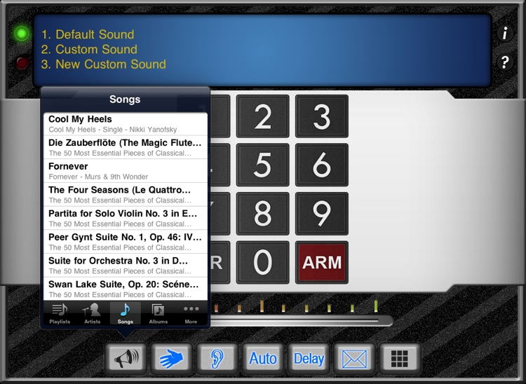 Security System (iPad Edition)
