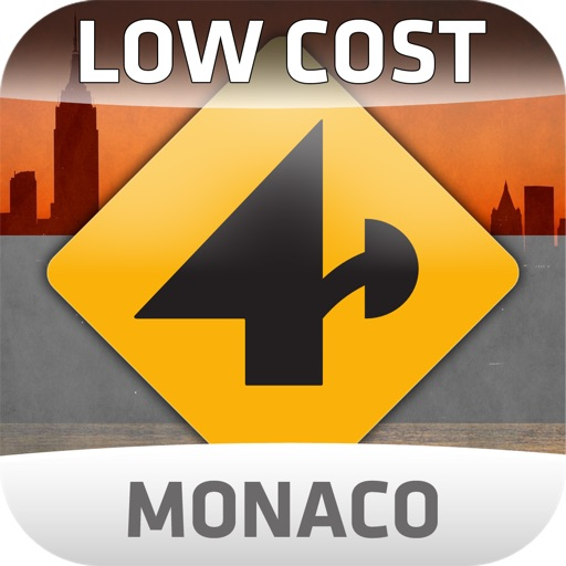 Nav4D Monaco @ LOW COST icon