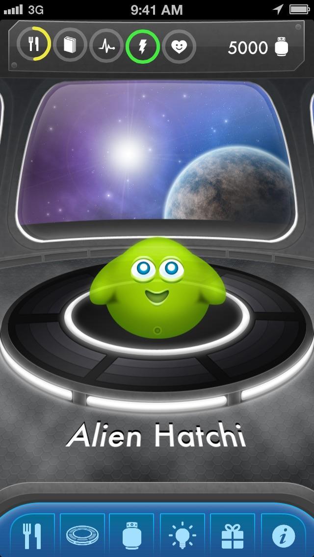 Screenshot #1 for Alien Hatchi - Virtual Pet