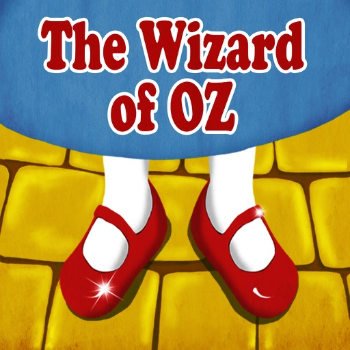 The wizard of Oz - interactive book for kids