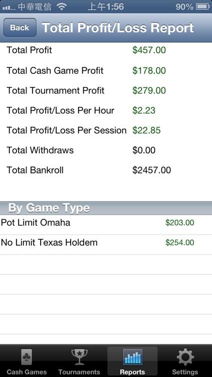 Poker Profit Tracker screenshot-3