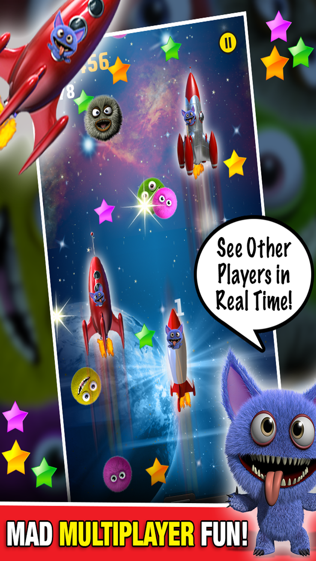 Monster in Space Multiplayer : Chase Race Alien Game PRO - By Dead Cool Appsのおすすめ画像3