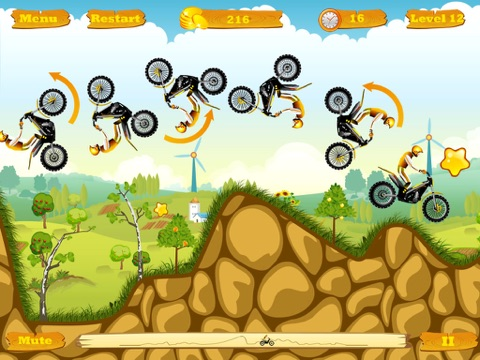 Screenshot #5 pour Moto Race Free