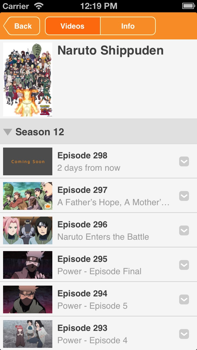 Naruto Shippuden Official - Watch Naruto FREE! Screenshot