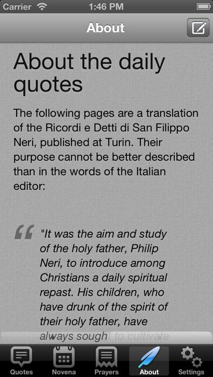 Saint Philip Neri screenshot-3