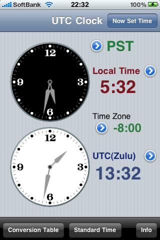 UTC Clock