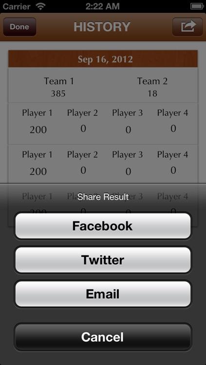 Dominoes Pad Pro screenshot-4