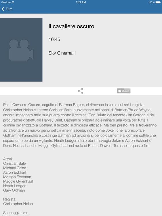 Televisione Italiana per iPad Gratuite