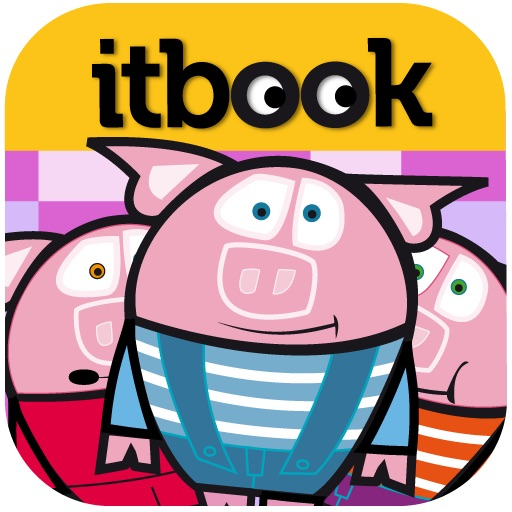 THE THREE LITTLE PIGS. ITBOOK STORY-TOY icon