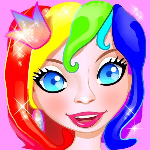 Раскраски для девочек – принцесса и волшебница, феи и русалки: детская раскраска и игра детям - детские игры