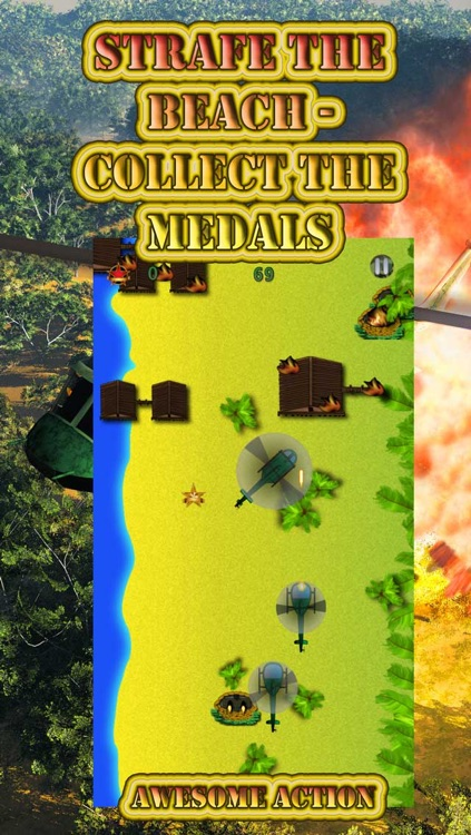 Apocalypse Helicopter Attack - Destroy the Enemy Village Combat screenshot-3