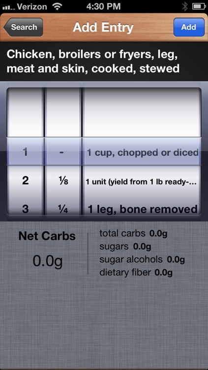 Carb Counter - Track your Carbs in Style
