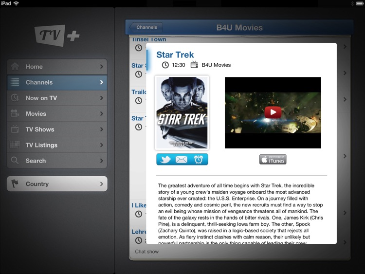 TV+ Guide (iPad edition)