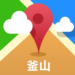 Busan Offline Map(offline map, subway map, GPS, tourist attractions information)