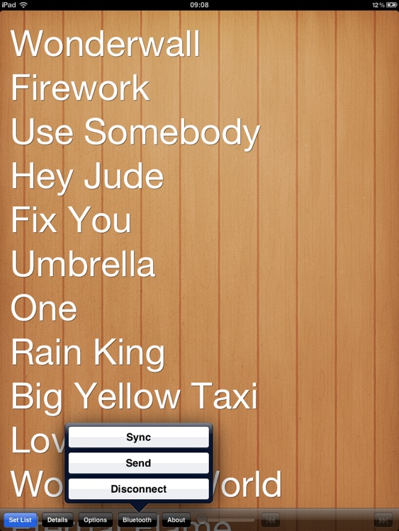 Set List HD screenshot-4