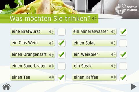 請說德語 - 在餐廳:台灣 screenshot 4