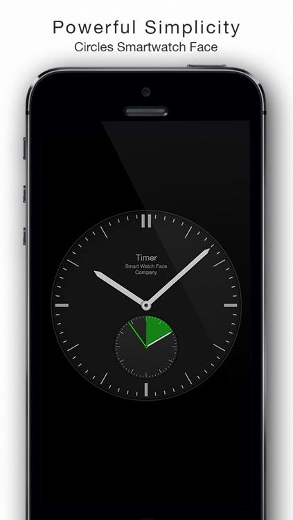 Circles - Smartwatch Face and Alarm Clock
