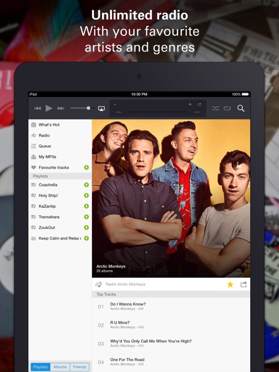 Deezer HD screenshot-2