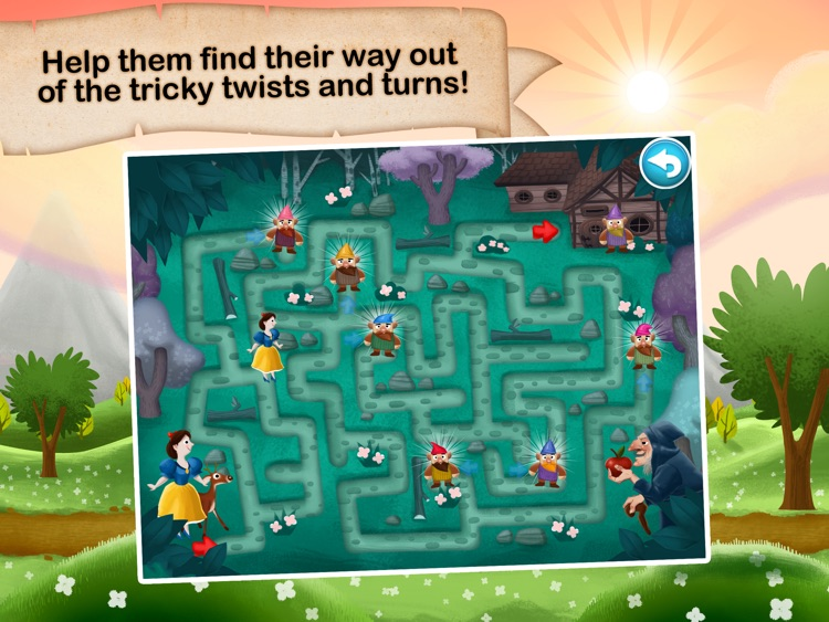 Fairytale Maze 123 - Fun learning with Children animated puzzle game