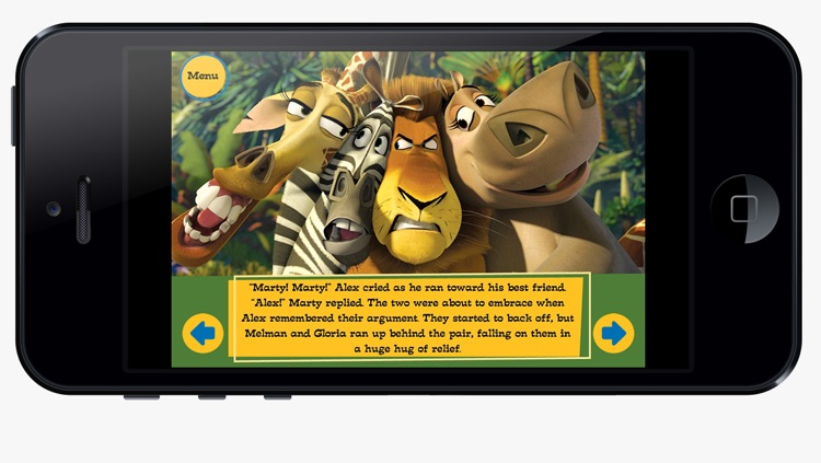 Madagascar Movie Storybook Collection - Complete screenshot-3