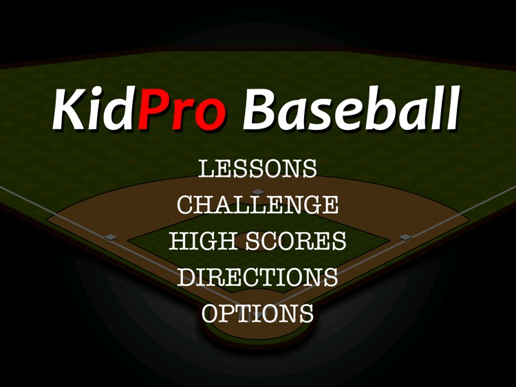 KidPro Baseball HD screenshot-0