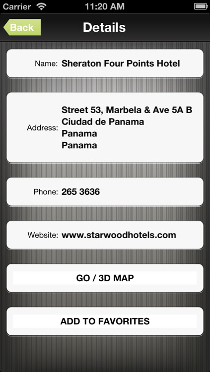 Panama GPS Map screenshot-3