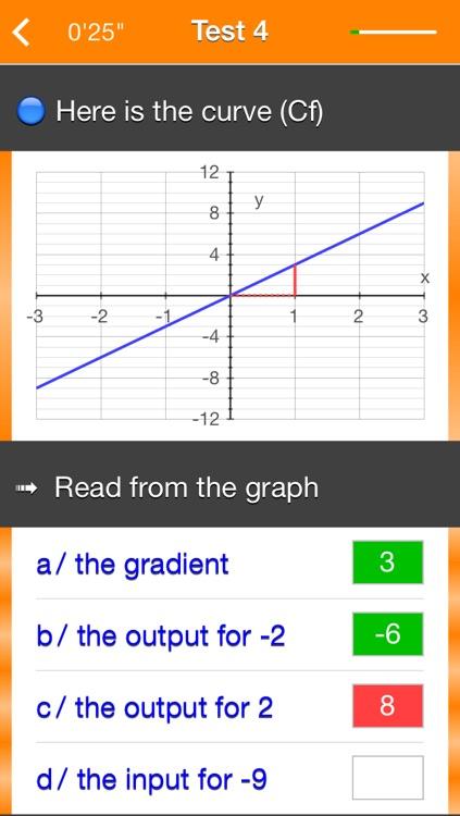 Functions f(x) = ax screenshot-4