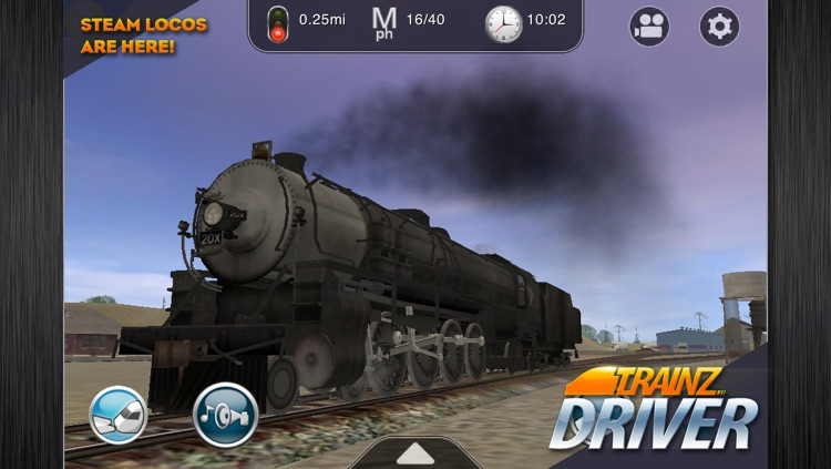 Trainz Driver - train driving game and realistic railroad simulator screenshot-0